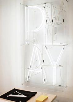 PLAY Neon Tube Lighting Design