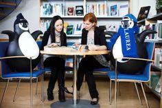 Laurea Library Hyvinkää's mascot - Pingy