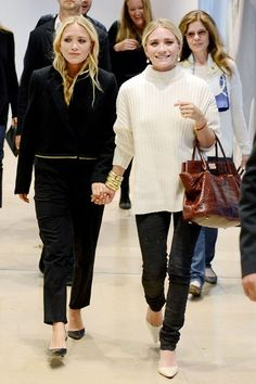 Stockholm - August 8 2013 Mary-Kate and Ashley Olsen.