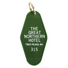Great Northern Key Tag by Greenwich Letterpress