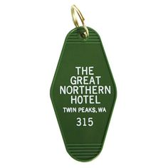Great Northern Key Tag by Greenwich Letterpress