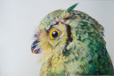 Pretty Pastel Owl Illustrations By John Pusateri - Bird Art Art And Illustration, Illustrations, Owl Art, Bird Art, Realistic Drawings, Art Drawings, Pictures Of Crystals, Happy Owl, Art Design