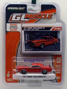 GREENLIGHT GL MUSCLE SERIES 13 1971 Dodge Challenger R/T *  LATEST Release #GreenLight #Dodge