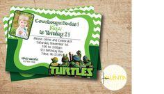 TMNT Teenage Mutant Ninja Turtles Green by aValentinesDesign