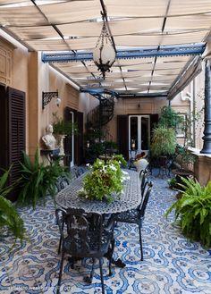 Giardino d'inverno | Palazzo Francavilla