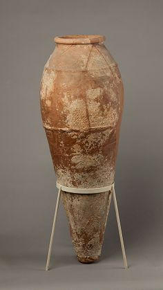 Jar Period: Early Dynastic Period Dynasty: Dynasty 1 Date: ca. 3100–2649 B.C. Geography: From Egypt, Northern Upper Egypt, Abydos, Tomb M...