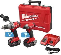 Milwaukee M18 FUEL 18-Volt ONE-KEY Lithium-Ion Brushless Cordless Hammer Driver