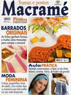 Macrame TRamas y Puntos Nº07 - Tiara Liron - Веб-альбомы Picasa