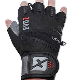 Buy skott 2018 Evo 2 Weightlifting Gloves with Integrated Wrist Wrap Support-Double Stitching for Extra Durability-Get Ripped with The Best Body Building Fitness Crossfit and Exercise Accessories Gym Gloves, Workout Gloves, Best Weight Lifting Gloves, 12 Week Workout, Workout Accessories, Fitness Accessories, Best Gym, No Equipment Workout, Training Equipment