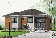 Plan de maison no. W3323-V2 de DessinsDrummond.com