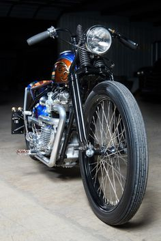 Triumph Bonneville 1960 Bobber by Angry Monkey Motorcycles #motorcycles #bobber #motos | caferacerpasion.com