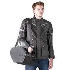 borse moto Saddle Bags EA101B Saddle Bags, Bomber Jacket, Jackets, Fashion, Down Jackets, Moda, Molle Pouches, La Mode, Bomber Jackets