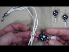 (Tutorial) Montios - earrings and pendant.