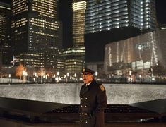 Scene where Police Commissioner Frank Reagan (Tom Selleck) visits the 9/11 WTC memorial just gives the heart wrenching chills of patriotic pride.