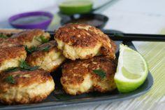 Thai kyllingboller med sitrongress/Thai chicken and lemongrass cakes - myfoodpassion