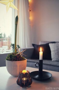 Blossom tealight candle holder - Black http://www.beandliv.com/products/blossom-tealight-candle-holder-black #beandliv #design #candle