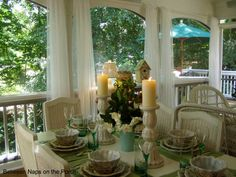 Ideas for screened porch!
