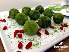 Matcha & Goji Berry Energy Balls