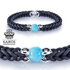 Amazonit pearl bracelet with silver elements by designer jewelry Ramona Matthaei. Pearl Bracelets, Fashion Bracelets, Designer Jewelry, Jewelry Design, Schmuck Design, Turquoise Bracelet, Pearls, Silver, Fashion Jewelry