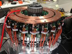 Axiflux electric motor.
