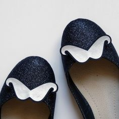 ballerines moustaches