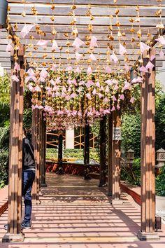 Unique Decor Ideas Looking for the best decorators in your town? find them #decor #fairylight #wedding #indianwedding #skyfall #decoration #decorators #lights #lighting #entry #entrance #shaadisaga Wedding Entrance, Entrance Decor, Mehndi Decor, Pastel Decor, Fairy Lights, Wedding Photography, Photography Ideas, Bride Groom, Skyfall