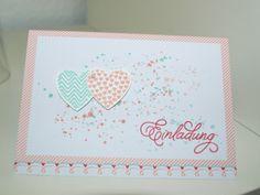 Herzliche Grüße, Valentinstag, Hochzeit, Einladung, Hearts a Flutter, Gorgeous Grunge, Einladung zur Hochzeit, Stampin up, Esslingen, Stuttg...