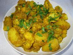 Aloo gobi (chou-fleur et pommes de terre à l'indienne) de Beaubarbu