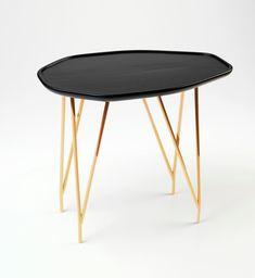 Furniture Accessories:Unique Black Gold Copper Coffee Table Small Black Mid Century Style Coffee Table Luxury Modern Coffee Table Elegant Modern Copper Furniture Designs for Luxury Interior Decoration