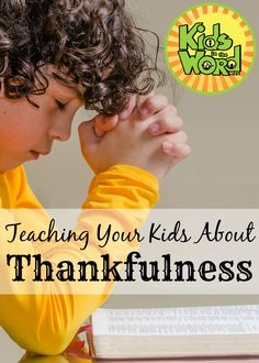 The timing and proximity of Thanksgiving to Christmas gives us time put our hearts in the right place before entering the Advent season. Help your kids learn year-round thankfulness and gratitude with our study at Kids in the Word. Teaching Kids, Kids Learning, Mommys Girl, Bible Study For Kids, Strong Family, Christian Devotions, Free Bible, Christian Parenting, Best Mom