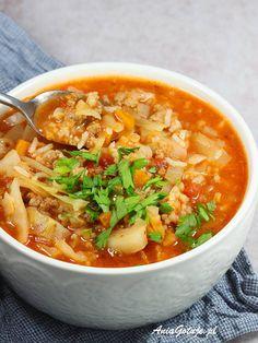 Soup Recipes, Vegan Recipes, Cooking Recipes, Tasty, Yummy Food, Polish Recipes, Stew, Nom Nom, Food And Drink