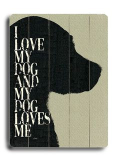 Perfect gift for dog lovers right here.