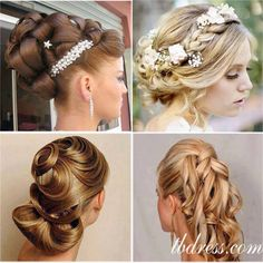 #wedding #hair #style #wig #fashion