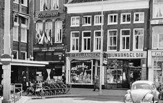 Groningen<br />De stad Groningen: De Vismarkt in 1957