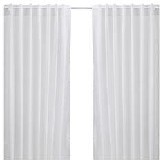 VIVAN Curtains, 1 pair - white - IKEA