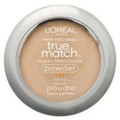 LOreal True Match Super-Blendable Powder - not sure on color (but dupe for MakeUp Forever Matte Compact Powder)