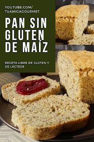 Dairy Free Recipes, Vegan Gluten Free, Bread Recipes, Healthy Recipes, Diabetic Deserts, Gluten Free Cornbread, Pan Dulce, Pan Bread, Going Vegan
