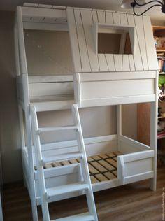 Двухэтажная кровать чердак