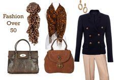 Fashion Over 50 -- fashion advice for beautiful women Fashion Mode, 50 Fashion, Look Fashion, Autumn Fashion, Fashion Trends, Fashion Ideas, Spring Fashion, Ladies Fashion, Fashion Outfits