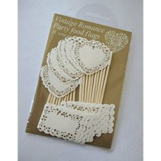 Vintage Romance Gold & Ivory Food Flags by MyCupcakeCase, http://www.amazon.co.uk/dp/B00DBCM3ZO/ref=cm_sw_r_pi_dp_syKttb11G3VVV