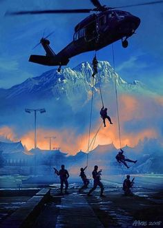 America & Military Love: Nightstalkers, badest of the bad Military Special Forces, Military Love, Military Police, Military Art, Military History, Military Soldier, Military Helicopter, Military Aircraft, Military Drawings