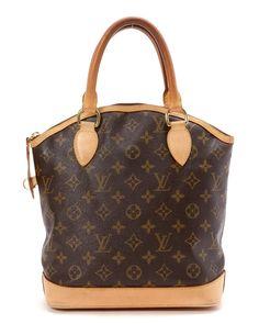 Louis Vuitton Monogram Lockit PM Handbag - Vintage