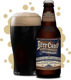 this robust stout features layers of deep malt flavors with rich, roasty notes of caramel, coffee, cocoa and dried fruit for a flavorful take on the traditional dark ale