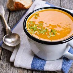 Krémová batátová polévka s mrkví - bezlepkové recepty | Lukana