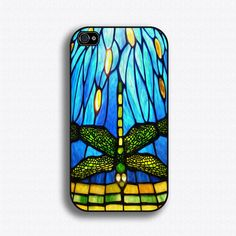MUS HAVE!! Tiffany Stained Glass Dragonfly  iPhone 4 Case by iCaseSeraSera, $18.99