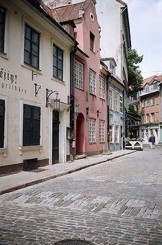Old Riga, Latvia, via Flickr