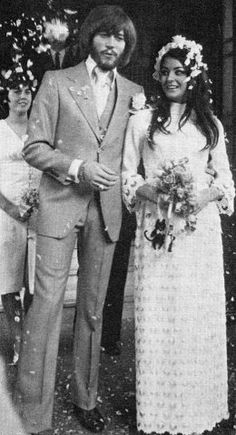 Barry Gibb & Linda Gray 1970