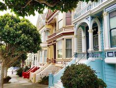 Painted Ladies San Francisco by Svetlana Watson #sanfrancisco #sf #bayarea #alwayssf #goldengatebridge #goldengate #alcatraz #california