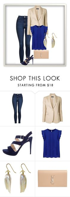 Wardrobe-casual by juliennevoka on Polyvore featuring mode, WithChic, Joseph, Topshop, Prada and Yves Saint Laurent Joseph, Yves Saint Laurent, Prada, Topshop, Shoe Bag, Casual, Polyvore, Stuff To Buy, Shopping