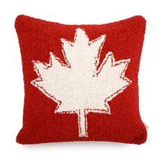 Large Maple leaf Pillow | Roots Home Accessories | Roots